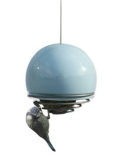 Birdball belle, blue-  This is such a unique idea for a bird feeder.  And it comes in different colors too !