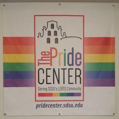 "@rojo_alexxx's photo of SDSU's Pride Center. ""This place makes me happy :3 #pridecenter #safeplace #happiness #sdsu #sdsupride"""