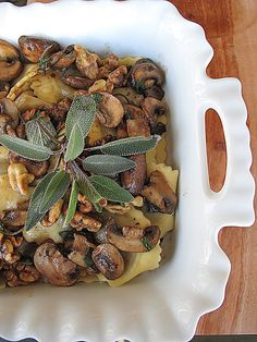 Agnolotti With Sage Walnut Cream Sauce Recipes — Dishmaps