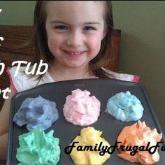 DIY Bath Tub Paint - How to Make Bath Tub Paint for under $0.50