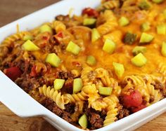 Cheeseburger Casserole Recipe