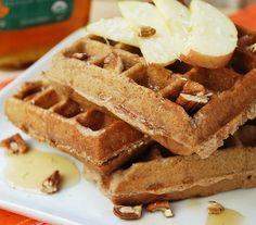 Apple Coconut Waffles
