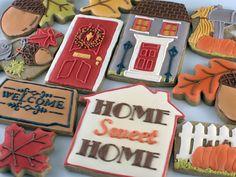 Home cookies fall housewarm, cookie dough, cookie gifts, housewarm cooki, pumpkin spice, cookies, cooki recip, cookie recipes, decor cooki
