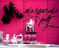 Masquerade Dinner Party - Karas Party Ideas - The Place for All Things Party