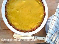 Pastel de Mango (Mango Pie) -- mmm... mangoes are in season!