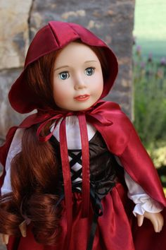 Harmony Club Doll, Lyric in Riding Hood outfit. Visit www.harmonyclubdolls.com