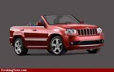 Jeep Cherokee Cabriolet.. we don't make this stuff up folks ;-)