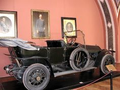 The car that Archduke Franz Ferdinand and his wife, Duchess Sophie, were assassinated in while in Serajavo, leading to the first World War. | The Blonde Historian