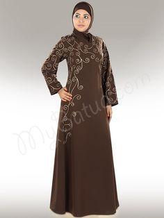 Buy Beautiful Farasha Abaya at | MyBatua | http://www.mybatua.com/womens/abaya
