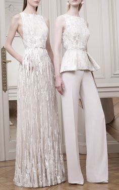 Elie Saab Resort 2015 Trunkshow Look 3 on Moda Operandi