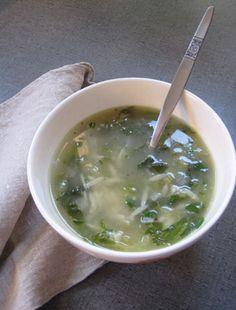 #Recipe: Lettuce and Orzo Soup.