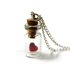 Bottled love! I want this necklace