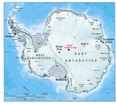 Scientists find East Antarctica is sliding sideways
