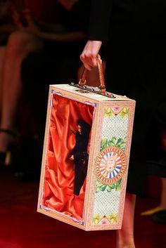Handbag heaven: Dolce & Gabbana Spring 2015