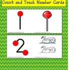 FREE!  Easy to touch and count with pictures from 1 - 9 that resemble each number.  This is the perfect way to practice one-to-one correspondence, number ...