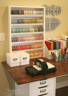 must make this ribbon storage! Follow us on Facebook here: http://www.facebook.com/diyncrafts