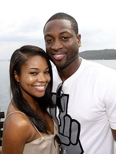 Congratulations to Gabrielle Union and Dwayne Wade!