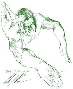 Green Lantern by Alex Ross