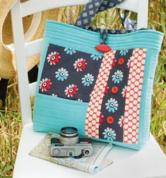 Travels with Lou bag by Stephanie Dunphy