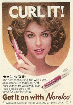 1978 ad: Norelco Curley 'Q II