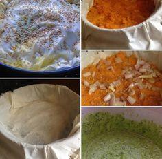 Vegetarian Filo Pie recipe