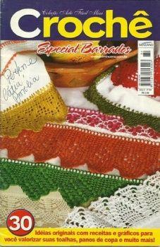 image host crochet lesson, crochet book, bico croch, crochetedg, edg 12, crochet border, bicos de crochet, crochet ebook, crochet edg