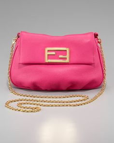 Fendista Pouchette Crossbody by Fendi at Neiman Marcus.