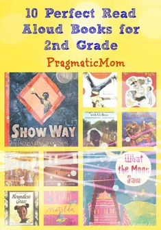 10 Perfect Read Aloud Books for 2nd Grade :: PragmaticMom