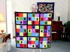 Pauline's Sudoku quilt by slredlich,        I would love to try this one :)