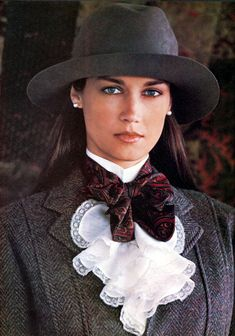 Ralph Lauren Fall 1982 ... I loved this model and all of the Ralph Lauren ads
