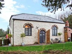 This stunning Grade II listed detached chapel conversion, built in 1820, is located in the pretty Monmouthshire village of Penallt, just 5 miles from Monmouth.
