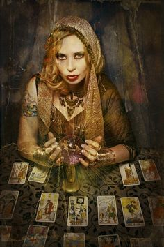 A Gypsy Fortune Teller.  EYEWORKS PHOTOGRAPHY