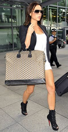 Oversized Bag and shoes.....style