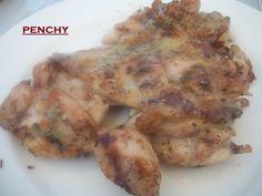 Contramuslos de pollo en barbacoa