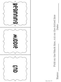 Step into 2nd Grade with Mrs. Lemons: Reading Strategies - make flipbook using construction paper instead