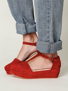 red...love these...you can never too many red shoes!