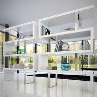 Cool super-modern shelving