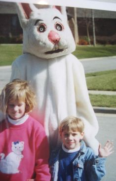 Why are all Easter Bunnies scary as F**k?
