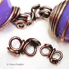 tutorials, wire wrap, jewelrylessonscom, jewelri idea, infin link, precious jewelri, link tutori, wrap infin