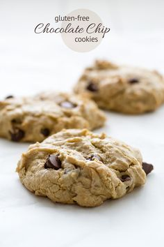 Gluten Free Chocolate Cookies #recipe