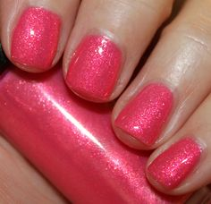 Hard Candy Itsy Glitzy Nail Lacquer Collection Swatches and Review Hard Candy Little Boo Pink – Vampy Varnish