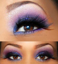 Purple Smokey Eyes.... pretty