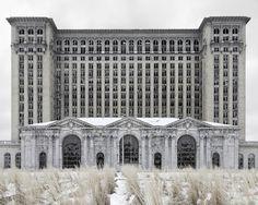 train station, jennif garzacuen, train depot, old trains, art photographi, fine art photography, place, detroit, thing dreami