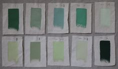 Paints and Palettes: 10 Best Jade and Celadon Green paints ; Gardenista