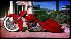 Custom Candy Red Trike