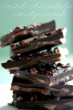 peppermint chocolate candy crack
