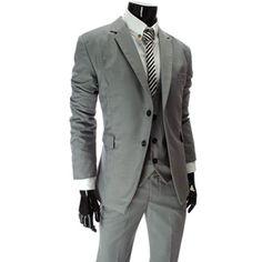 Business Slim fit 2 Button Blazer Jacket