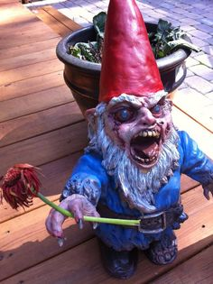 GNOMBIES. Etsy. $116.66 #etsy #gnomes #zombies #gnombies
