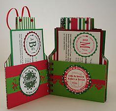 Christmas Cookie Swap Book christma apron, christmas cookie swap ideas, christma cooki, swap book, cook book, recipe cards, apron cook, parti, christmas gifts