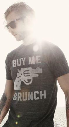 buy me brunch tee